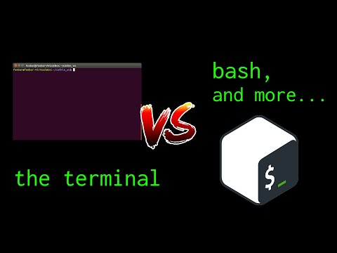 Terminal vs. Bash vs. Command line vs. Prompt