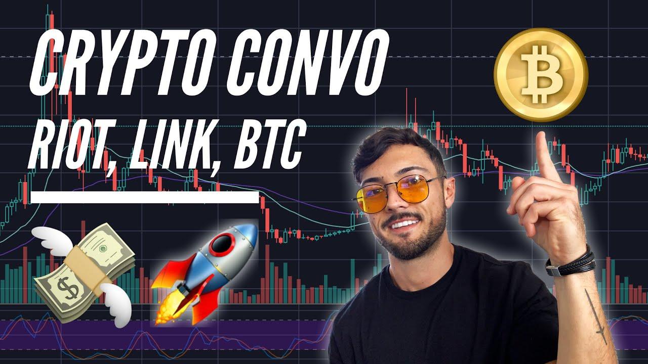 Crypto Convo: Riot Blockchain (RIOT) News, Chainlink (LINK) on FIRE, Bitcoin (BTC) Mass Adoption