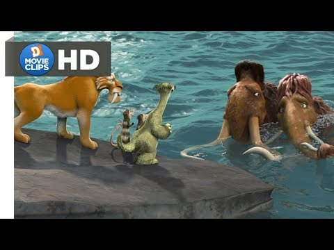 Ice Age 2 Hindi (14/15) Rescue Ellie Scene Part-2 MovieClips