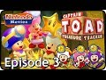 Captain Toad: Treasure Tracker - Episode 3 (2 Players, All Gems, Bonus Objectives, Pixel Toads)
