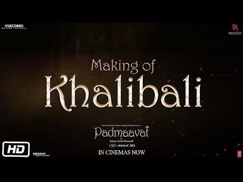 Khalibali Song Making Video  Padmaavat  Ranveer Singh  Deepika Padukone  Shahid Kapoor