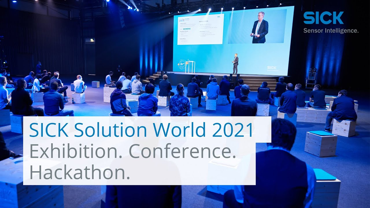 Download SICK Solution World 2021: Exhibition, Conference and Hackathon | SICK AG