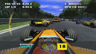 F1 2002 PS2 by EA Sports (Classic F1 Games Revisited)