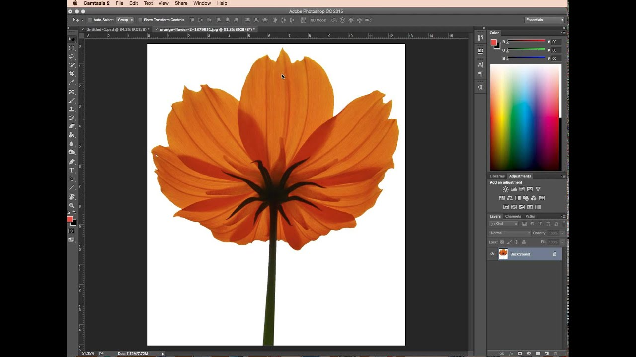 Removing white background in photoshop - Photoshop clear cutting guide [1/4]