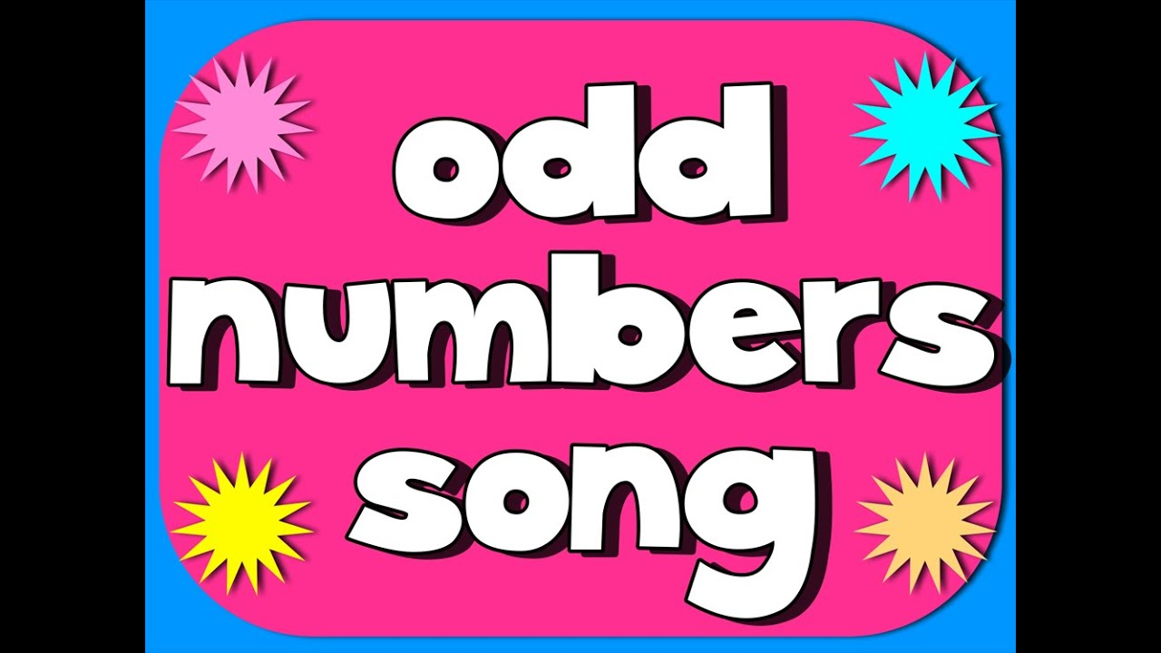 hight resolution of Even and Odd Numbers (songs