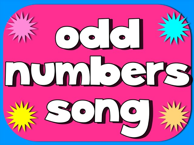 Odd Number Song: This song teaches the odd digits, and shows that any number ending in an odd digit is also odd.
