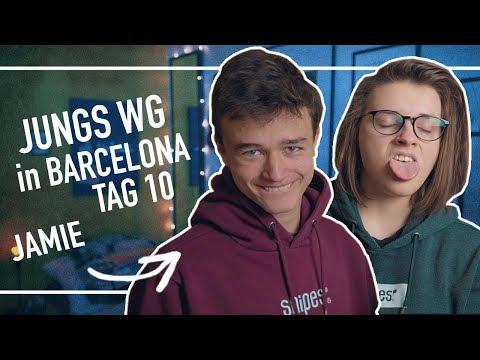 Jungs WG in Barcelona mit JAMIE!! |Tag 10| Annikazion