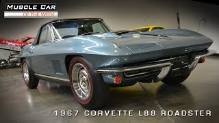 Muscle Car Of The Week Video #28: 1967 Corvette L88 Roadster