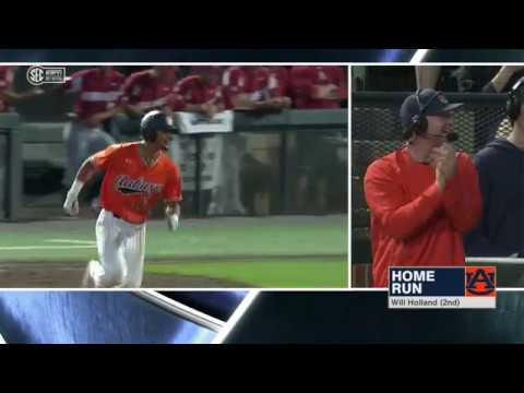 Auburn University Sports - Auburn Baseball vs Arkansas Game 2 Highlights