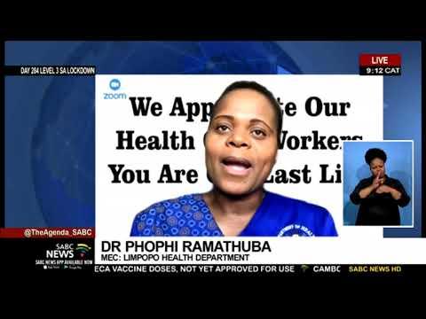 Limpopo province COVID-19 update | MEC Dr. Phophi Ramathuba