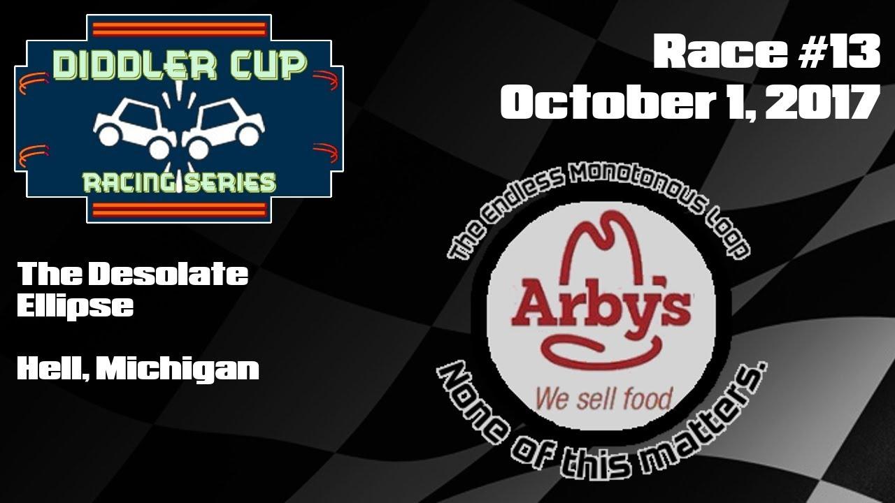 nihilist arby s endless monotonous loop diddler cup racing series
