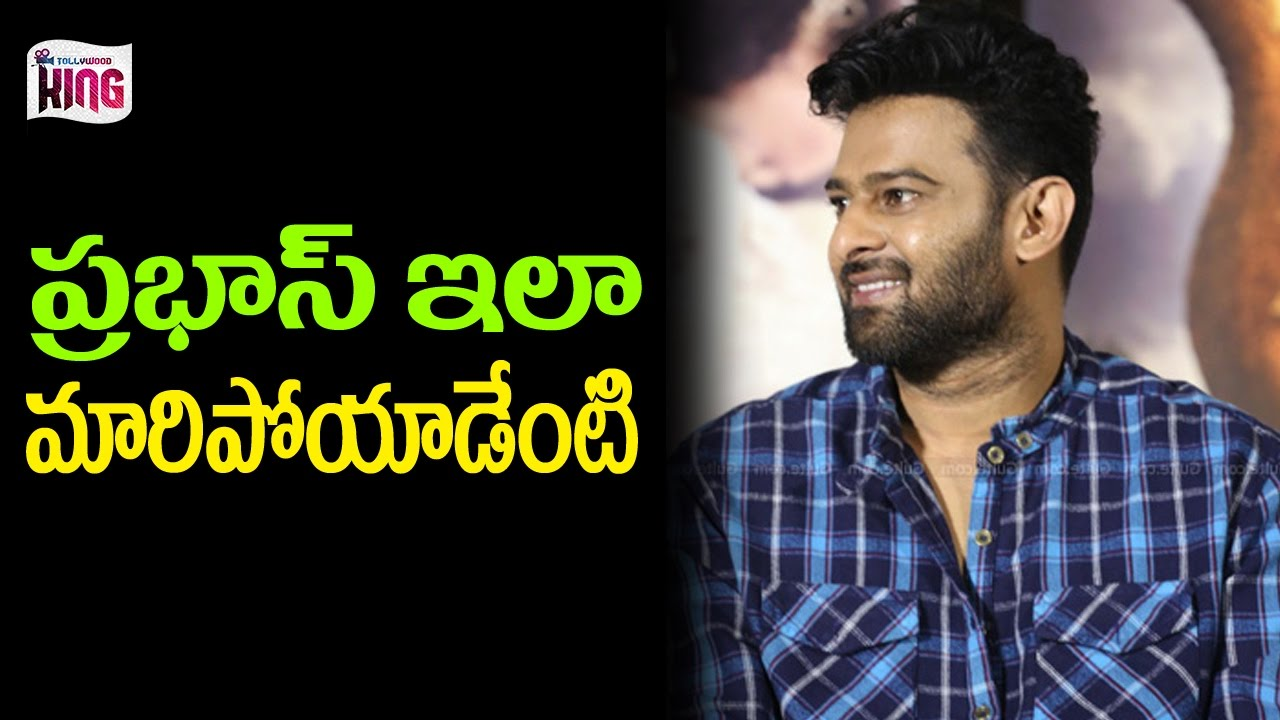 prabhas new look after bahubali | latest celebrity updates