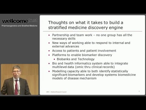 The Uk Enviroment for Stratified Medicine - Discussion session