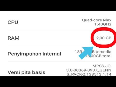 Cara Menambah RAM Hp Android.