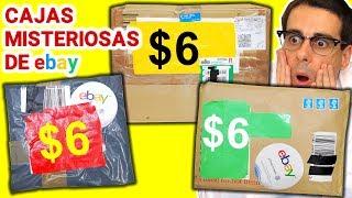 Abriendo 3 Cajas Misteriosas de $6 de Ebay 📦❓   Caja Sorpresa
