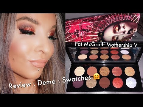 Pat McGrath Labs : Mothership V Bronze Seduction : Review : Demo : Swatches thumbnail