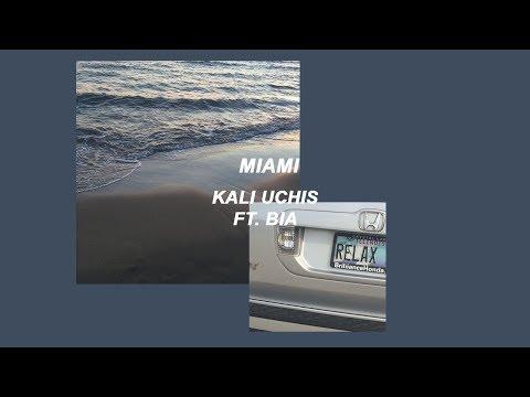 kali uchis // miami ft. bia (lyrics)
