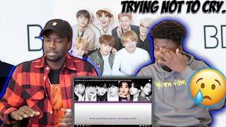 BTS Blue & Grey Lyrics (REACTION) |This is DEEP