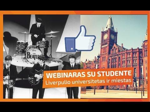 WEBINARAS: Dominyka iš University of Liverpool