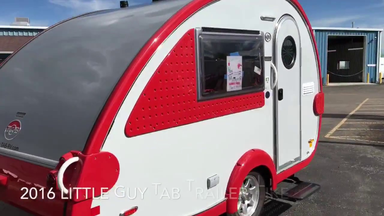 2016 Little Guy TB S Max Teardrop Trailer Pikes Peak Traveland RV Walk Through 3489