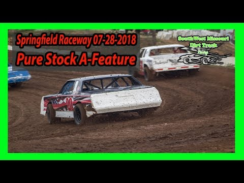 Pure Stock A-Feature Dave wagy Thoughts and prayers your way - Springfield Raceway 7-28-2018