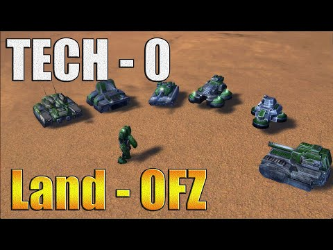 Танки TECH 0 ОФЗ Обзор ! - Supreme Commander FA (ArthasMP)