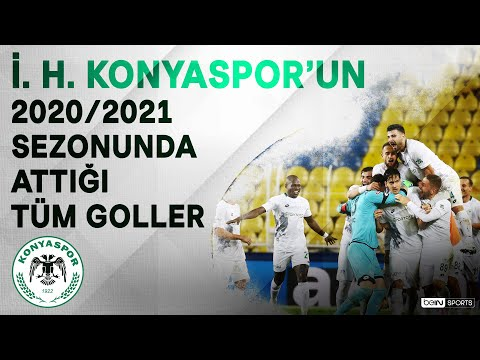 İ. H. Konyaspor   2020/21 Sezonu   Tüm Goller   #SüperLig