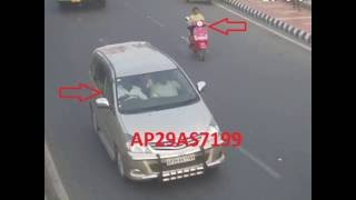 Innova Vs Scooter Accident | Caught By CCTV Cam | Live Accidents in India | Tirupati Traffic Police