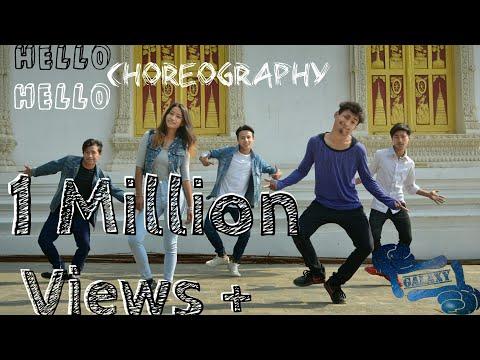 Galaxy cr3w | Hello Hello choreography | Bhim bista seerish | Ya20 production | Nepal
