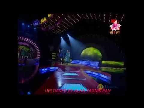 Ankho se tune ye Kya keh Diya, Ghulam 1998 live Kumar sanu Alka Yagnik (uploaded by fan)