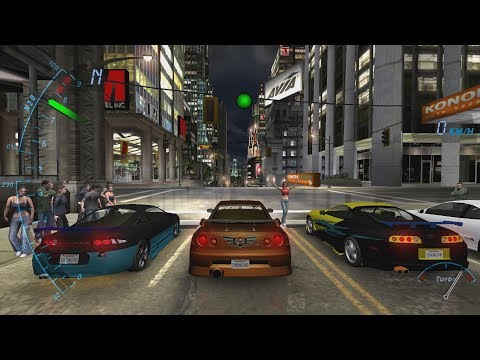 Need for Speed: Underground PS2 Gameplay HD (PCSX2)