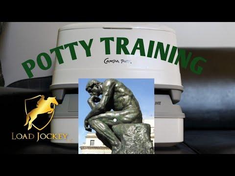 Potty Training: Portable Toilet for trucks