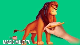 Как нарисовать Симбу Король Лев How To Draw And Paint Simba The King Lion(Приятного просмотра!❤ Enjoy watching!❤ Смотрите наши новые видео! Не забудьте подписаться на канал чтобы ничего..., 2016-05-29T06:00:01.000Z)