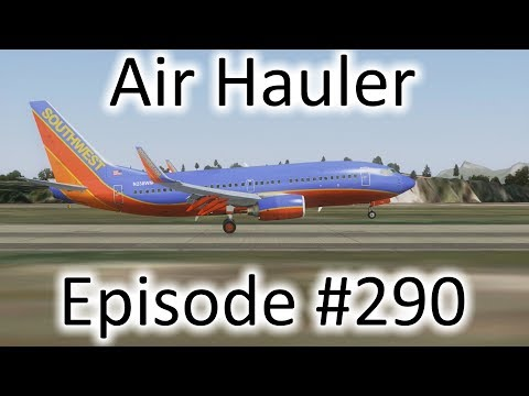 FSX | Air Hauler Ep. #290 - Buenos Aires to Rio de Janeiro | 737-700