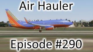 FSX   Air Hauler Ep. #290 - Buenos Aires to Rio de Janeiro   737-700
