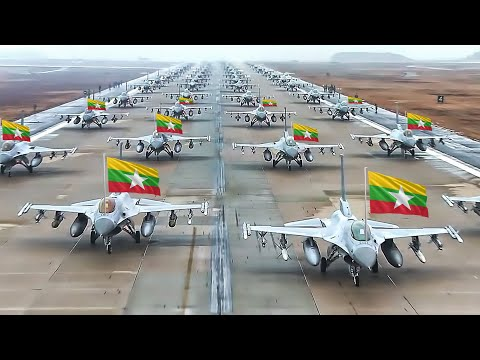 Myanmar Air Force Strength 2020  ( All Weapons )