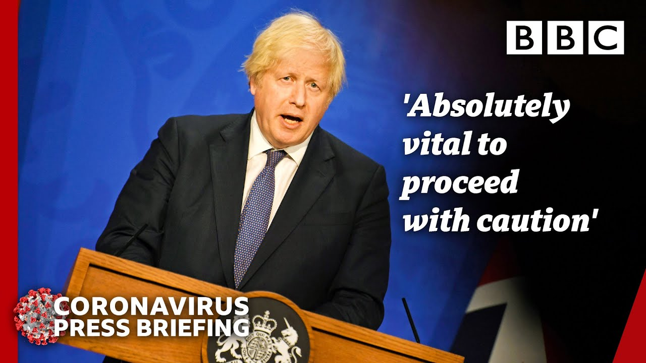 Download Covid not over, warns Boris Johnson, as he outlines reopening 🇬🇧 @BBC News live 🔴 BBC