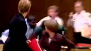 Justice - Son Attacks His Moms Killer In Court!!
