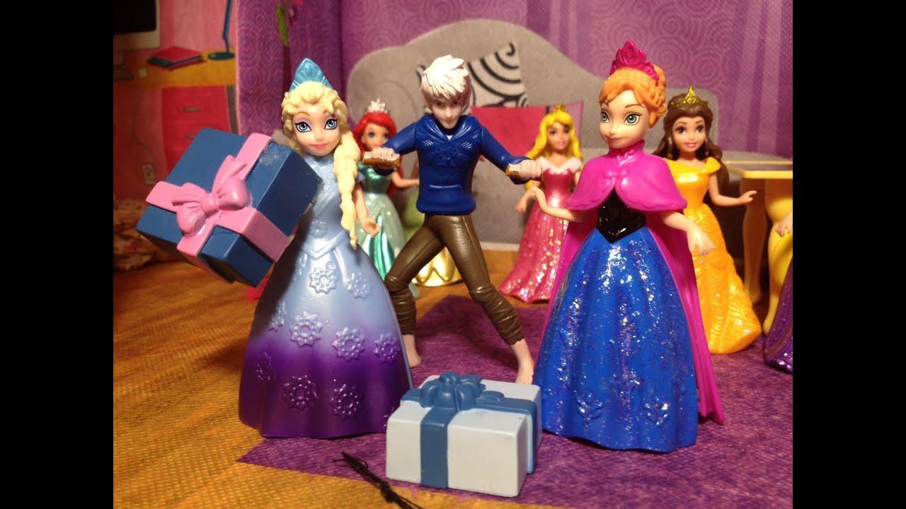 frost födelsedag FROZEN Elsa Surprise Birthday Party from Jack Frost Video Parody  frost födelsedag