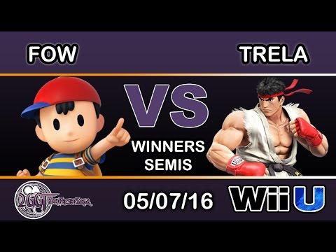 2GGT: Pink Fresh Saga - FOW (Ness) Vs. Trela (Ryu) Winners Semis - Smash Wii U