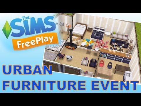 Sims Freeplay | Urban Furniture Event
