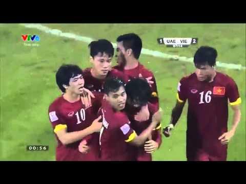 Mãn Nhãn Với Bàn Thắng Siêu Phẩm Của Tuấn Anh Vào Lưới U23 UAE