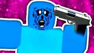 ROBLOX-Zombie Rush Gameplay Part 2 Jus Killen ZOmBiES!!!!!