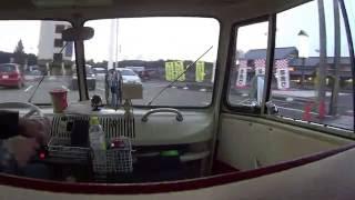 【VWバスの車窓から①】はじめての走行動画