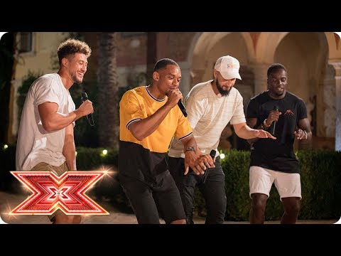 Rak-Su bring the heat with original song Palm Tree | Judges' Houses | The X Factor 2017