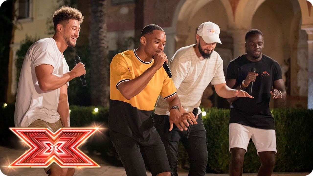 Rak Su Bring The Heat With Original Song Palm Tree Judges Houses X Factor 2017