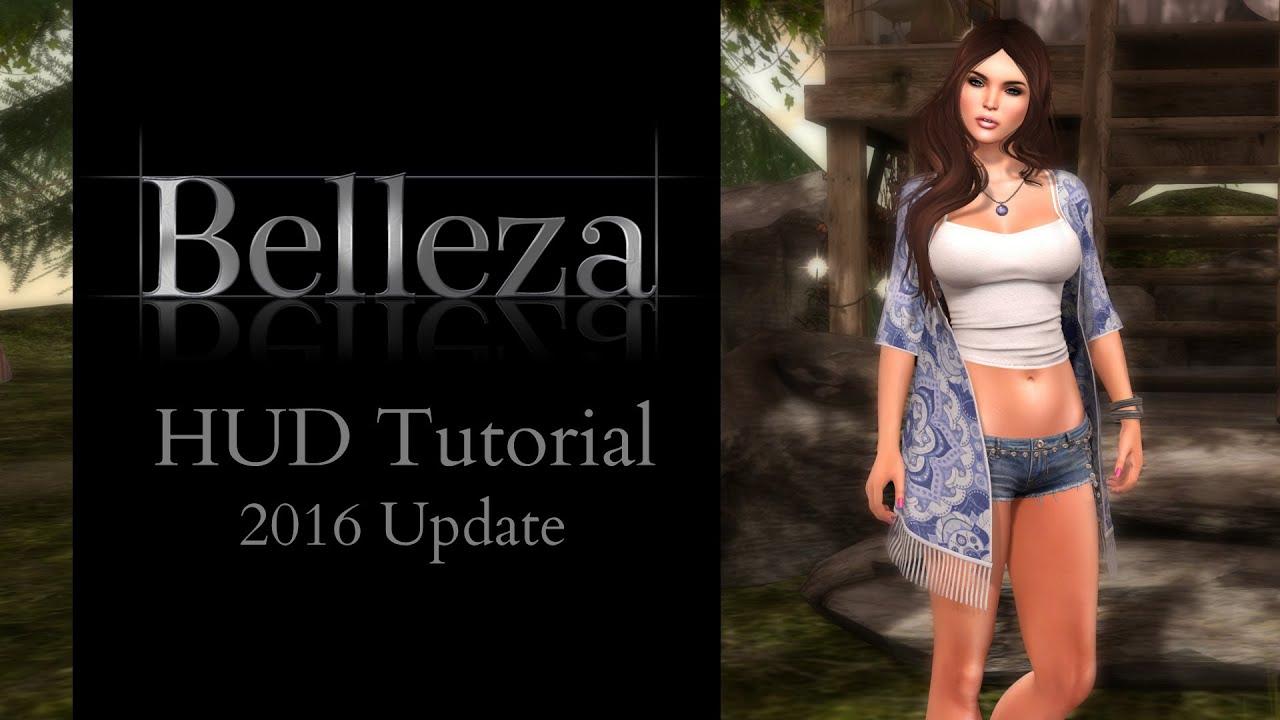 HUD Tutorial - Belleza Mesh Body Update 2016