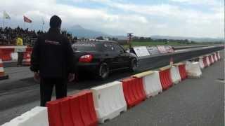 1400hp Subaru Sti 04 testing (full street Full interior (33psi boost pass ~1200hp))