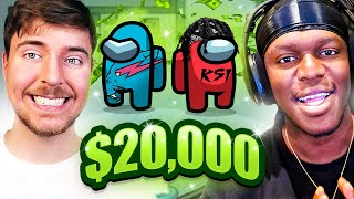 SIDEMEN $20,000 AMONG US vs MR BEAST