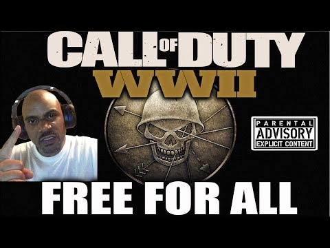 COD WW2 FREE FOR ALL LIVE
